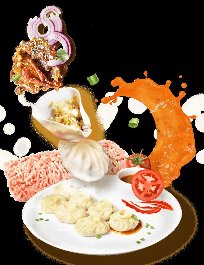 HappyD Momo Dumplings, South Asian Food Delivery