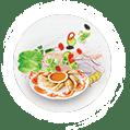 Vegetarian Momo Dumplings Family Size Meal